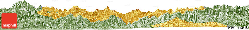 Savanna Style Horizon Map of Eastern Highlands