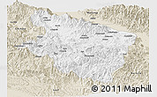 Classic Style Panoramic Map of Eastern Highlands