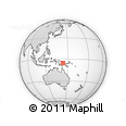 Outline Map of Enga