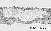 Gray Panoramic Map of Enga