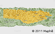 Savanna Style Panoramic Map of Enga