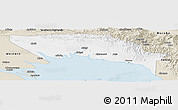 Classic Style Panoramic Map of Gulf