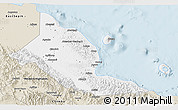 Classic Style 3D Map of Madang