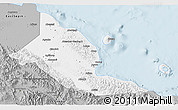 Gray 3D Map of Madang