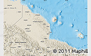 Shaded Relief Map of Madang