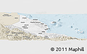 Classic Style Panoramic Map of Madang