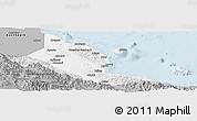 Gray Panoramic Map of Madang