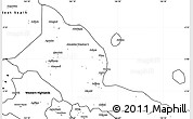 Blank Simple Map of Madang