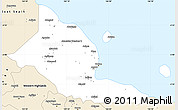 Classic Style Simple Map of Madang