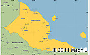 Savanna Style Simple Map of Madang
