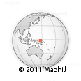Outline Map of Manus