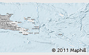 Gray 3D Map of Milne Bay