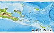 Physical 3D Map of Milne Bay