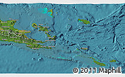 Satellite 3D Map of Milne Bay