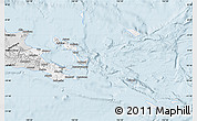 Silver Style Map of Milne Bay