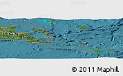 Satellite Panoramic Map of Milne Bay