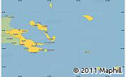 Savanna Style Simple Map of Milne Bay