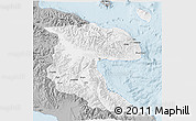 Gray 3D Map of Morobe