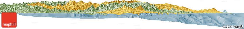Savanna Style Horizon Map of Morobe