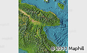 Satellite Map of Morobe