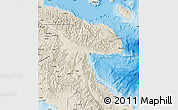 Shaded Relief Map of Morobe