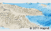 Shaded Relief Panoramic Map of Morobe