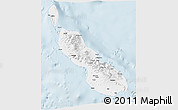 Classic Style 3D Map of Northern Solomons
