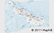 Classic Style Panoramic Map of Northern Solomons