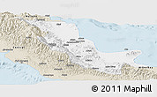 Classic Style Panoramic Map of Northern