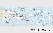 Classic Style Panoramic Map of Papua New Guinea