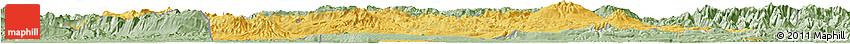 Savanna Style Horizon Map of Southern Highlands