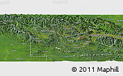 Satellite Panoramic Map of Southern Highlands
