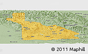 Savanna Style Panoramic Map of Southern Highlands