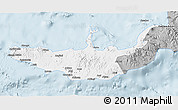 Gray 3D Map of West New Britain