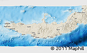 Shaded Relief 3D Map of West New Britain