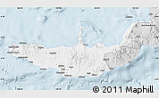 Silver Style Map of West New Britain