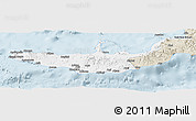 Classic Style Panoramic Map of West New Britain