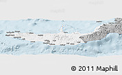 Gray Panoramic Map of West New Britain