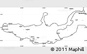Blank Simple Map of West New Britain
