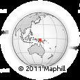 Outline Map of West Sepik