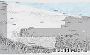 Gray Panoramic Map of West Sepik