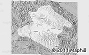 Gray 3D Map of Western Highlands