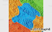 Political Map of Western Highlands