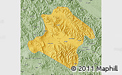Savanna Style Map of Western Highlands