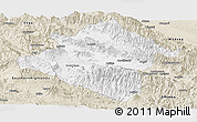Classic Style Panoramic Map of Western Highlands