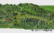 Satellite Panoramic Map of Western Highlands