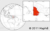 Blank Location Map of Western
