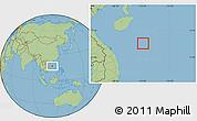 Savanna Style Location Map of Paracel Islands