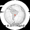 Outline Map of Minga Guazu