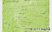 Physical Map of Minga Pora
